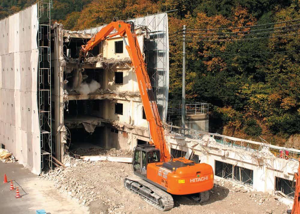 Hitachi ZX350LC-3 Demolition в аренду