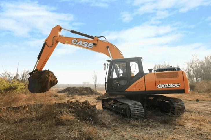Case CX220C LC в аренду