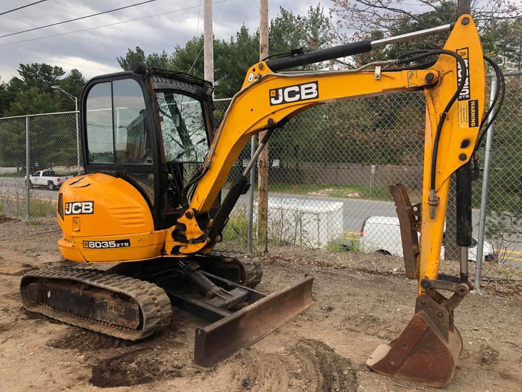 JCB 8035 ZTS в аренду