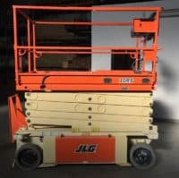 Электрический ножничный подъемник JLG 10RS